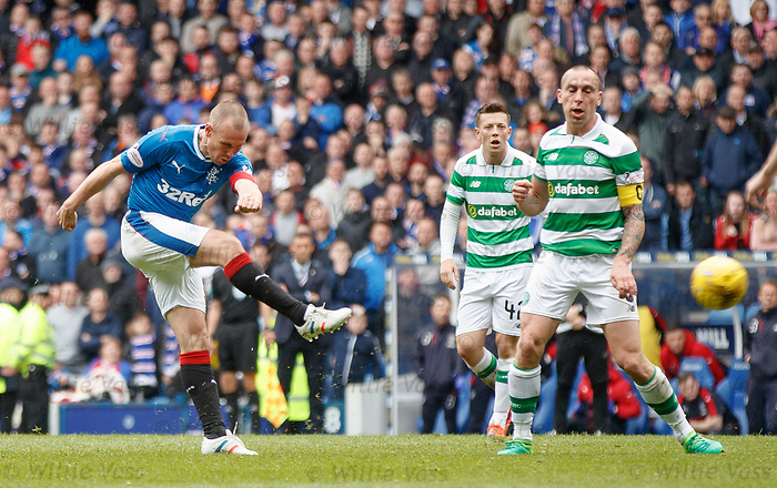 Kenny Miller tests Craig Gordon