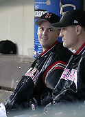 May 15, 2004:  Travis Phelps of the Indianapolis Indians, Triple-A International League affiliate of the Milwaukee Brewers, during a game at Frontier Field in Rochester, NY.  Photo by:  Mike Janes/Four Seam Images