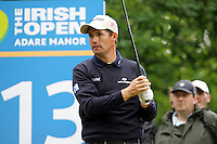 Padraig Harrington after teeing off on the 13th hole during the third round of the Irish Open on 19th of May 2007 at the Adare Manor Hotel & Golf Resort, Co. Limerick, Ireland. (Photo by Eoin Clarke/NEWSFILE)...
