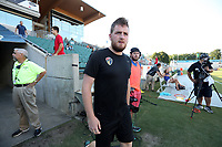 Cary, North Carolina  - Saturday August 05, 2017: Matty Golden prior to a regular season National Women's Soccer League (NWSL) match between the North Carolina Courage and the Seattle Reign FC at Sahlen's Stadium at WakeMed Soccer Park. The Courage won the game 1-0.