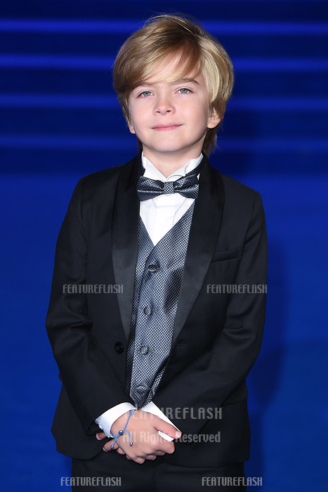 LONDON, UK. December 12, 2018: Joel Dawson at the UK premiere of &quot;Mary Poppins Returns&quot; at the Royal Albert Hall, London.<br /> Picture: Steve Vas/Featureflash