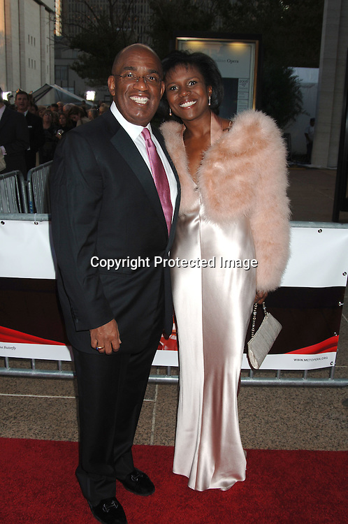 Al Roker and Deborah Roberts ..arriving at The Opening of The Metropolitan Opera's 2006-2007 Season on September 25, 2006 in the Lincoln Center Plaza. ..Robin Platzer, Twin Images..
