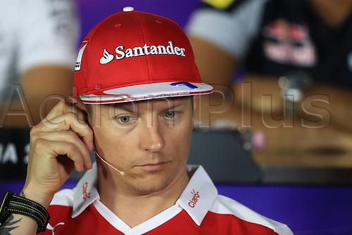 01.09.2016. Monza, Italy. Formula 1 Grand prix of Italy, driver arrival and press conference day.  Scuderia Ferrari – Kimi Raikkonen