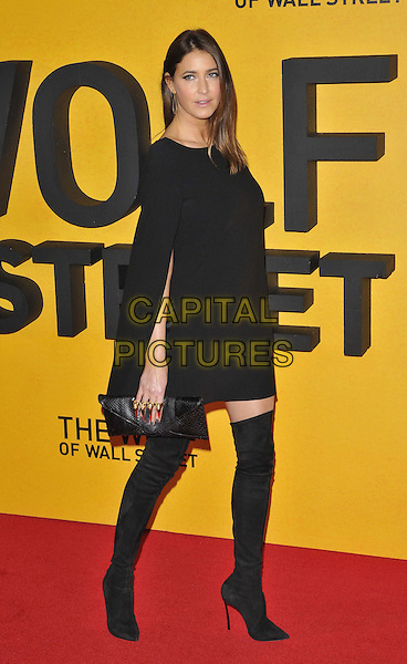 LONDON, ENGLAND - JANUARY 09: Lisa Snowdon attends the 'The Wolf Of Wall Street' UK film premiere, Odeon Leicester Square cinema, Leicester Square, on Thursday January 09, 2014 in London, England, UK.<br /> CAP/CAN<br /> &copy;Can Nguyen/Capital Pictures