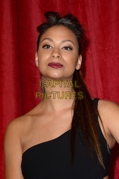 LONDON, ENGLAND - MAY 28: Laura Rollins attends the British Soap Awards 2016 at Hackney Town Hall on May 28, 2016 in London, England.<br /> CAP/BEL<br /> &copy;BEL/Capital Pictures