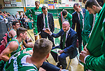 S&ouml;dert&auml;lje 2014-10-11 Basket Basketligan S&ouml;dert&auml;lje Kings - Ume&aring; BSKT :  <br /> S&ouml;dert&auml;lje Kings tr&auml;nare headcoach coach Vedran Bosnic i aktion under en timeout i matchen mellan S&ouml;dert&auml;lje Kings och Ume&aring; BSKT <br /> (Foto: Kenta J&ouml;nsson) Nyckelord:  S&ouml;dert&auml;lje Kings SBBK Basket Basketligan T&auml;ljehallen Ume&aring; BSKT tr&auml;nare manager coach diskutera argumentera diskussion argumentation argument discuss