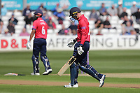 Daniel Lawrence of Essex leaves the field having been dismissed during Essex Eagles vs Gloucestershire, Royal London One-Day Cup Cricket at The Cloudfm County Ground on 7th May 2019