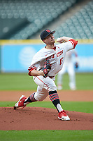 Houston Cougars pitcher Trey Cumbie )15) in action against the Kentucky Wildcats in game two of the 2018 Shriners Hospitals for Children College Classic at Minute Maid Park on March 2, 2018 in Houston, Texas.  The Wildcats defeated the Cougars 14-2 in 7 innings.   (Brian Westerholt/Four Seam Images)