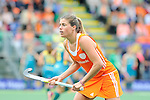 The Hague, Netherlands, June 14: Kim Lammers #23 of The Netherlands looks on during the field hockey gold medal match (Women) between Australia and The Netherlands on June 14, 2014 during the World Cup 2014 at Kyocera Stadium in The Hague, Netherlands. Final score 2-0 (2-0)  (Photo by Dirk Markgraf / www.265-images.com) *** Local caption ***