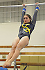 Gillian Murphy of Massapequa performs on the uneven bars during a Nassau County varsity gymnastics meet against Bethpage at Jamaica Avenue School in Plainview on Wednesday, Dec. 21, 2016. She scored an 8.50 in the event and won the all-around with a 36.35.