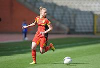 Belgium U19 - Ukraine U19 : <br /> <br /> Belgium U19 : Margaux Van Ackere<br /> <br /> foto Dirk Vuylsteke / Nikonpro.be