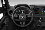 Car pictures of steering wheel view of a 2019 Mercedes Benz Sprinter-Box-Van - 2 Door Chassis Cab Steering Wheel