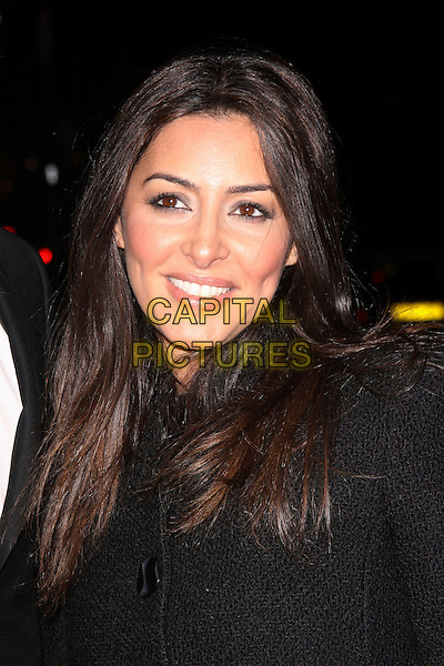 LAILA ROUASS.At the Inspirational Women Of The Year Awards, Marriott Hotel, Grosvenor Square, London, England, UK, November 23rd 2010..portrait headshot black smiling  .CAP/AH.©Adam Houghton/Capital Pictures.