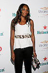 Venus Williams arrives at the US Open Player Party at The Empire Hotel, August 27, 2010.