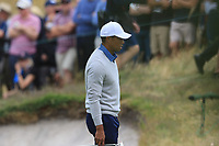 Tiger Woods (USA) on the 3rd green during the Second Round - Foursomes of the Presidents Cup 2019, Royal Melbourne Golf Club, Melbourne, Victoria, Australia. 13/12/2019.<br /> Picture Thos Caffrey / Golffile.ie<br /> <br /> All photo usage must carry mandatory copyright credit (© Golffile | Thos Caffrey)
