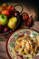 Apple and pear cobbler. (Photo by Andy Rogers)