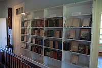 Bookshelf In Ernest Hemingway Home And Museum, Key West, Florida