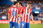 "Atletico de Madrid Yannick Carrasco, Diego Godín and Gabriel ""Gabi"" Fernández during La Liga match between Atletico de Madrid and UD Las Palmas at Vicente Calderon Stadium in Madrid, Spain. December 17, 2016. (ALTERPHOTOS/BorjaB.Hojas)"