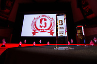 Stanford, CA - September 24, 2017: The 2017 Stanford Athletics Hall of Fame Induction Ceremony at Bing Concert Hall.