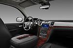 Passenger side dashboard view of a 2007 - 2014 Cadillac Escalade ESV Premium SUV