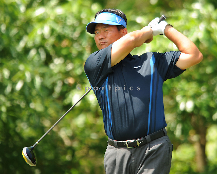 K.J. CHOI, during the first round of the Quail Hollow Championship, on April 30, 2009 in Charlotte, NC.
