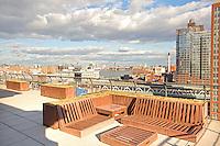 Roof Deck at 70 Washington Street