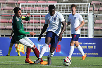 Ronaldo Vieira of Leeds and England U21's in action during Mexico Under-21 vs England Under-21, Tournoi Maurice Revello Final Football at Stade Francis Turcan on 9th June 2018