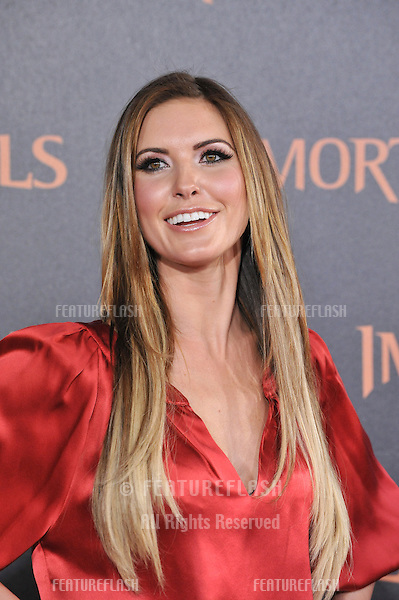 "Audrina Patridge at the world premiere of ""Immortals"" at the Nokia Theatre L.A. Live in downtown Los Angeles..November 7, 2011  Los Angeles, CA.Picture: Paul Smith / Featureflash"