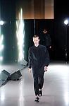 October 21st, 2011: Tokyo, Japan – A model walks down the catwalk wearing MOLFIC during Mercedes-Benz Fashion Week Tokyo 2012 Spring/Summer. The Mercedes-Benz Fashion Week Tokyo runs from October 16-22. (Photo by Yumeto Yamazaki/AFLO)
