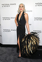 NEW YORK, NEW YORK - JANUARY 08:  Lady Gaga attends the 2019 National Board Of Review Gala at Cipriani 42nd Street on January 08, 2019 in New York City. <br /> CAP/MPI/JP<br /> &copy;JP/MPI/Capital Pictures