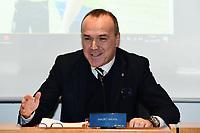 Mauro Balata<br /> Milano 3-12-2018Convegno Quarta Categoria Il calcio e' di tutti<br /> Daniele Buffa / Image Sport / Insidefoto