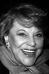 KAYE BALLARD attends The Second Annual All-Star Benefit Concert of the Hit Broadway Musical FUNNY GIRL. The evening benefited The Actors' Fund Of America. New Amsterdam Theatre, New York City on<br />September 23, 2002