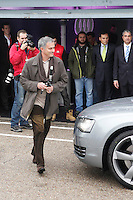 Real Madrid coach Jose Mourinho participates and receives new Audi during the presentation of Real Madrid's new cars made by Audi at the Jarama racetrack on November 8, 2012 in Madrid, Spain.(ALTERPHOTOS/Harry S. Stamper) .<br /> &copy;NortePhoto