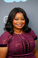 Octavia Spencer attends the 23rd Annual Critics' Choice Awards at Barker Hangar in Santa Monica, Los Angeles, USA, on 11 January 2018. Photo: Hubert Boesl - NO WIRE SERVICE - Photo: Hubert Boesl/dpa /MediaPunch ***FOR USA ONLY***