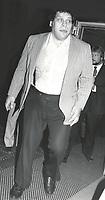 CelebrityArchaeology.com<br /> New York City<br /> 1980 FILE PHOTO<br /> Andre the Giant (Andr&eacute; Ren&eacute; Roussimoff)<br /> Photo By John Barrett-PHOTOlink.net / MediaPunch<br /> -----<br /> <br /> &mdash;&mdash;