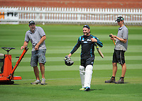 131209 International Cricket - Black Caps Training