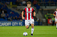 Ched Evans of Sheffield United during the Sky Bet Championship match between Cardiff City and Sheffield United at Cardiff City Stadium, Cardiff, Wales on 15 August 2017. Photo by Mark  Hawkins / PRiME Media Images.