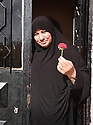A PIECE OF JORDAN - TRAVEL FEATURE.ASAD'S STEP-MOTHER, AMNEH, 52.. PHOTO BY CLARE KENDALL. 07971 477316.