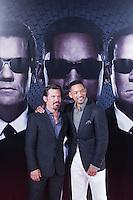 MADRI, ESPANHA, 14 DE MAIO 2012 - PREMIERE HOMENS DE PRETO III - O ator Will Smith e Jade Smith durante pre estréia do filme Homens de Preto III, em Madri capital da Espanha, na noite de ontem domingo, 13. (FOTO: MIGUEL CORDOBA / ALFAQUI / BRAZIL PHOTO PRESS).