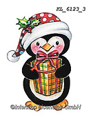 CHRISTMAS ANIMALS, WEIHNACHTEN TIERE, NAVIDAD ANIMALES, paintings+++++,KL6123/3,#xa# ,sticker,stickers