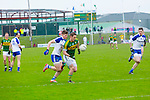 Kerry's Stephen O'Brien gets away from Monaghan's Darren Hughes  in the Allianz Football League Kerry V Monaghan at Austin Stack Park on Sunday