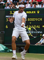 ..Tennis - Wimbledon Lawn Tennis Championships - Day 13 Sun 4th Jul 2010 -  All England Lawn Tennis and Croquet Club - Wimbledon - London - England..© FREY - AMN IMAGES  Level 1, Barry House, 20-22 Worple Road, London, SW19 4DH.TEL - +44 (0) 20 8947 0100.Email - mfrey@advantagemedianet.com.www.advantagemedianet.com
