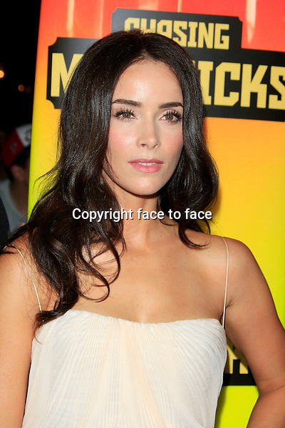 "Abigail Spencer at the ""Chasing Mavericks"" - Los Angeles Premiere at Pacific Theaters at the Grove, Los Angeles, 18.10.2012...Credit: Martin Smith/face to face"