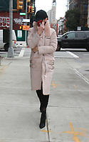 NEW YORK, NY - NOVEMBER 13: Yolanda Hadid seen leaving for the 2017 Glamour Women Of The Year Awards in New York City on November 13, 2017. <br /> CAP/MPI/RW<br /> &copy;RW/MPI/Capital Pictures