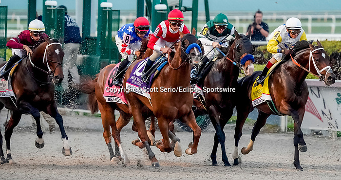 January 25, 2020: during the Pegasus World Cup Invitational at Gulfstream Park Race Track in Hallandale Beach, Florida. Scott Serio/Eclipse Sportswire/CSM