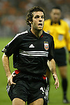30 October 2004: Ben Olsen. DC United defeated the MetroStars 2-0 at RFK Stadium in Washington, DC in the second leg of their Major League Soccer Eastern Conference Semifinal playoff series. United eliminated the MetroStars 4-0 on aggregate goals..