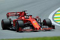 16th November 2019; Autodromo Jose Carlos Pace, Sao Paulo, Brazil; Formula One Brazil Grand Prix, Qualifying Day; Sebastian Vettel (GER) Scuderia Ferrari SF90 - Editorial Use