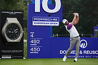 Jordan Smith (ENG) in action during the ProAm ahead of the Porsche European Open, Green Eagle Golf Club, Hamburg, Germany. 04/09/2019<br /> Picture: Golffile | Phil Inglis<br /> <br /> <br /> All photo usage must carry mandatory copyright credit (© Golffile | Phil Inglis)