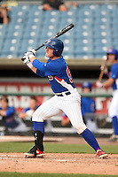 Alex Webb (55) of Columbia Central High School in Columbia, Tennessee playing for the Chicago Cubs scout team during the East Coast Pro Showcase on August 1, 2014 at NBT Bank Stadium in Syracuse, New York.  (Mike Janes/Four Seam Images)