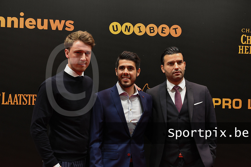 20190116 – PUURS ,  BELGIUM : Alexandro Pozuelo (M) pictured during the  65nd men edition of the Golden Shoe award ceremony and 3th Women's edition, Wednesday 16 January 2019, in Puurs Studio 100 Pop Up Studio. The Golden Shoe (Gouden Schoen / Soulier d'Or) is an award for the best soccer player of the Belgian Jupiler Pro League championship during the year 2018. The female edition is the thirth one in Belgium.  PHOTO DIRK VUYLSTEKE | Sportpix.be